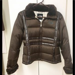 Gorgeous North Face down jacket